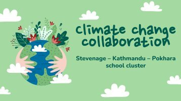 Climate change collaboration