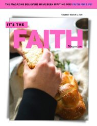 It's The Faith Magazine March 6 2021 Issue
