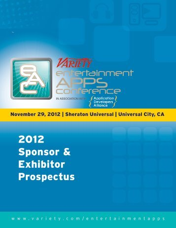 2012 Sponsor & Exhibitor Prospectus - Application Developers ...