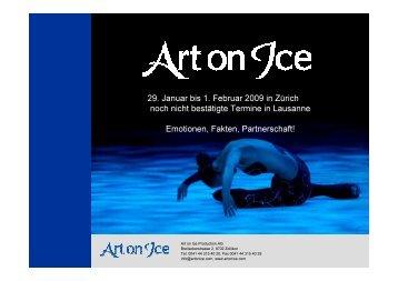 Art on Ice - Sponsoring Extra