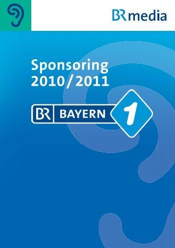 Programm Sponsoring - Radio- und TV-Werbung