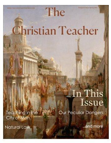 The Christian Teacher Inaugural Issue