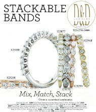 Stackable Diamond Bands