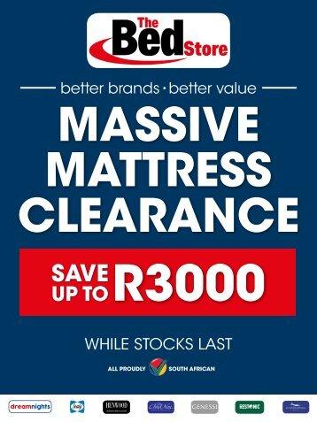 Mattress Clearance