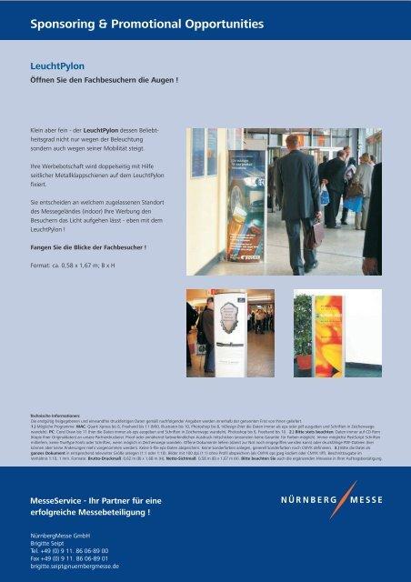 Sponsoring & Promotional Opportunites - Perimeter Protection