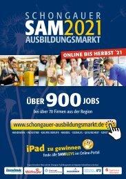 SAM2021 - Schongauer Ausbildungsmarkt - Infobroschüre