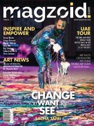MAGZOID - Leading Art Magazine of MENA   March 2021