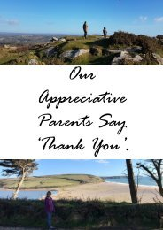 Parent appreciation