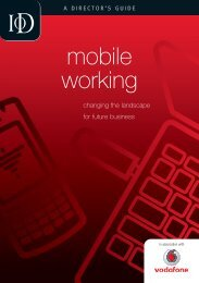 mobile working - Director Magazine