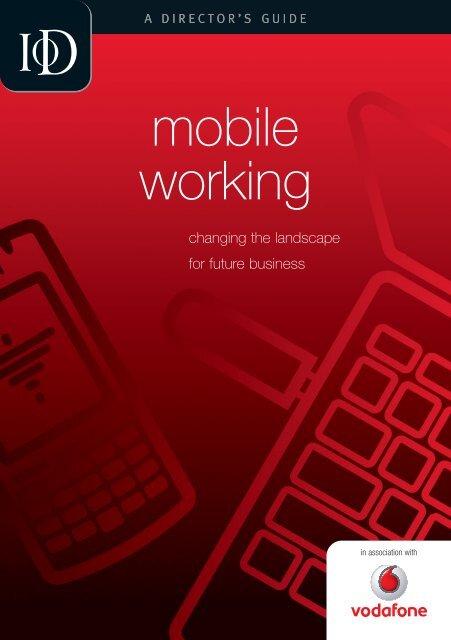 mobile working - Director Magazine