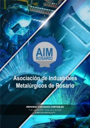 AIM Ejercicio Social N°77 «Revista Digital»