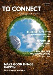 To Connect Magazine Company Golf Club