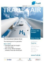 The trade fair - F-Cell