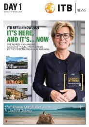 ITB Berlin News 2021 - Day 1 Edition