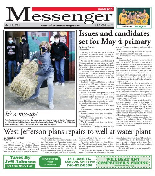 Madison Messenger - March 7th, 2021