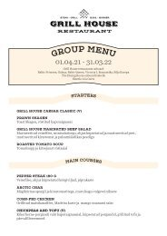Grill House Group Menu 01.04.21-31.03.22 (EST)