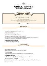 Grill House Group Menu 01.04.21-31.03.22 (EST)