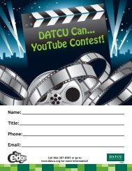 """official rules for """"datcu can"""" you tube commercial contest"""