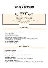 Grill House Group Menu 01.04.21-31.03.22 (SWE, SEK)
