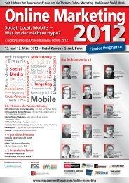 Social, Local, Mobile - Management Forum der Verlagsgruppe ...