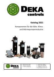 DEKA-Controls Katalog 2021