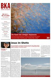 Berner Kulturagenda N°9