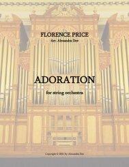 Price - Adoration - 00 Full Score