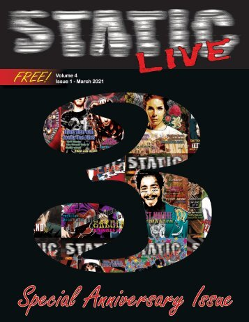 Static Live Magazine March 2021
