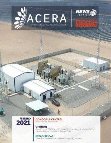 Newsletter ACERA - Febrero 2021