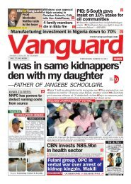 10032021 - I was in same kidnappers' den with my daughter —FATHER OF JANGEBE SCHOOLGIRL