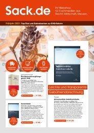 Frühjahr 2021: Top-Titel und Datenbanken zur RVG-Reform