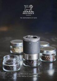 Peugeot Mühlen Werbemittelkatalog