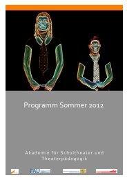 Programm Sommer 2012