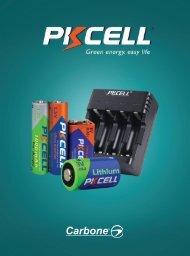 Catálogo de Baterías Carbone PK