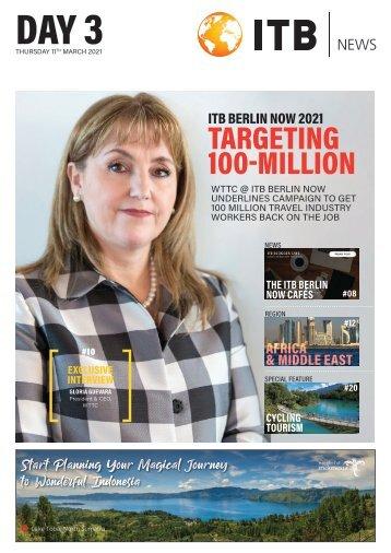 ITB Berlin News 2021 - Day 3 Edition