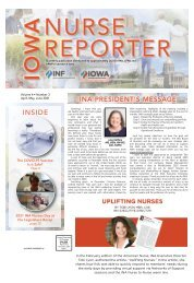 Iowa Nurse Reporter - April 2021