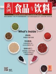 Food & Beverage China January-March 2018