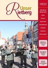 Unser Rietberg Ausgabe 24 vom 10. März 2021