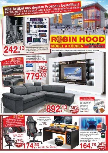 Aktuelle Werbung Robin Hood SB - Möbel und Küchen günstig