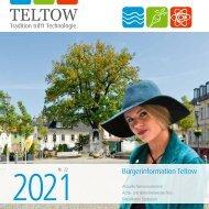 Bürgerinformation Teltow 2021
