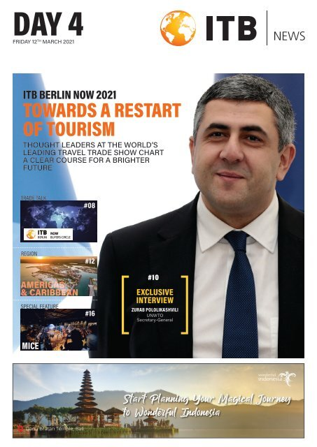 ITB Berlin News 2021 - Day 4 Edition
