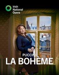 La bohème livestream concert programme