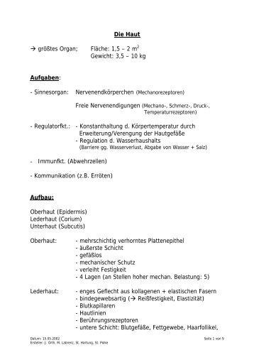 Sonnenbrand - physis-web.de