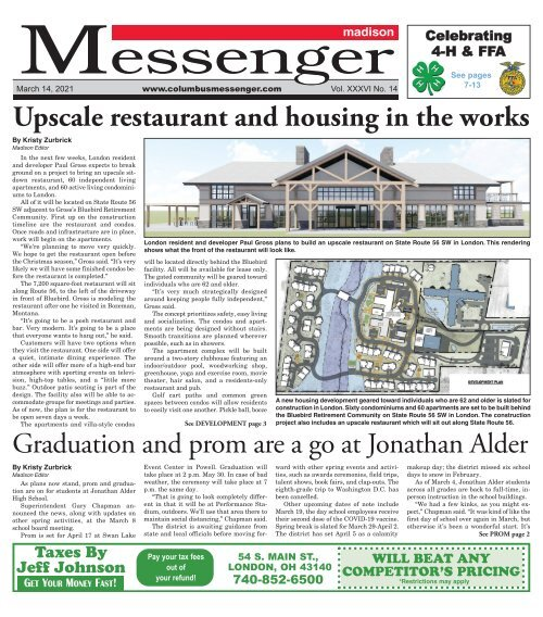 Madison Messenger - March 14th, 2021