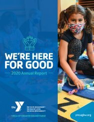 2020 Annual Report - We're Here for Good