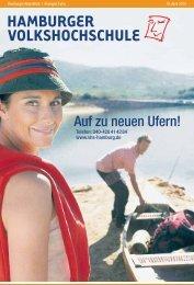 Auf zu neuen Ufern! - Hamburger Volkshochschule