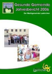 Übersicht der Aktionen und Aktivitäten in Laakirchen 2006