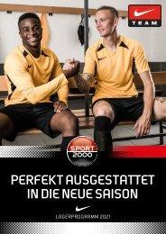 Nike | SPORT 2000  Teamwear  2021