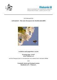 Broschüre MBSR 2008 - Suchtbuchholz