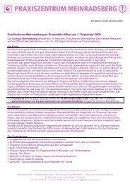 Information (PDF) - Stiftung Paracelsus heute